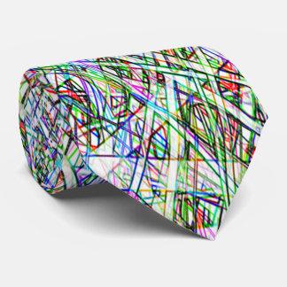 Lazo rayado color enrrollado corbatas personalizadas