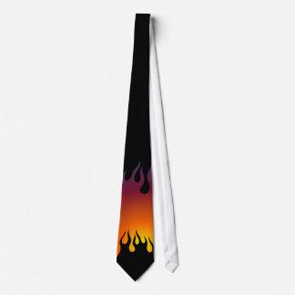 Lazo rebelde de la quemadura corbata personalizada