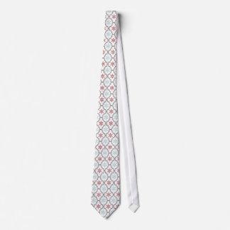 Lazo retro de los copos de nieve corbatas personalizadas