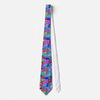 lazo salvaje de los colores del amor de los años corbata