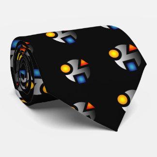 Lazo secreto del logotipo del MI Corbatas