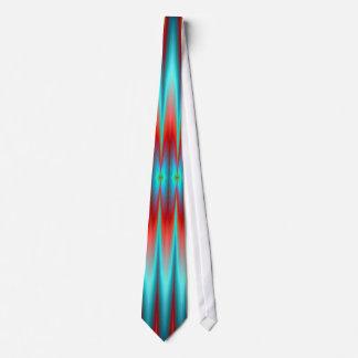 Lazo Stylized aurora abstracta de neón del modelo  Corbatas Personalizadas