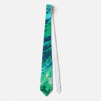 Lazo subacuático de los mares que burbujea de corbata personalizada