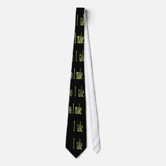 lazo tácito de la palabra corbata