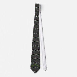 Lazo tejado año feliz del friki corbatas