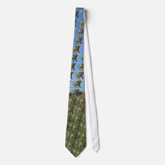 Lazo tejado mastodonte corbatas personalizadas
