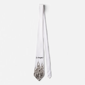 Lazo torcido corbatas