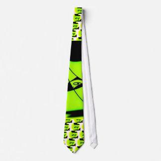Lazo verde corbata