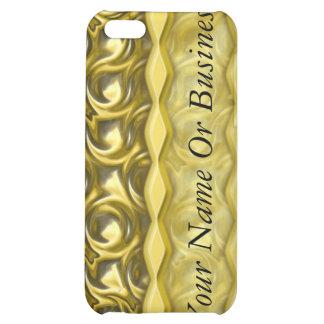 Lazos brillantes del oro