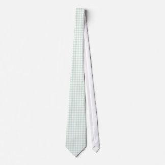 Lazos del modelo de la guinga de la verde menta corbata