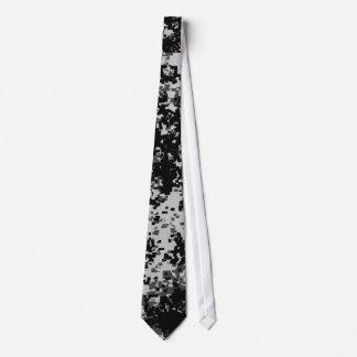Lazos militares blancos y negros de Digitaces Camo Corbatas Personalizadas