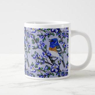 Lazuli Bunting Coffee Cup