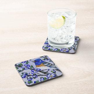 Lazuli Bunting Beverage Coaster