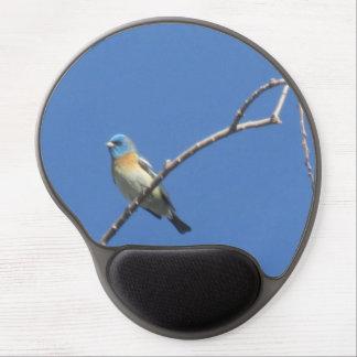 Lazuli Bunting Gel Mouse Pad