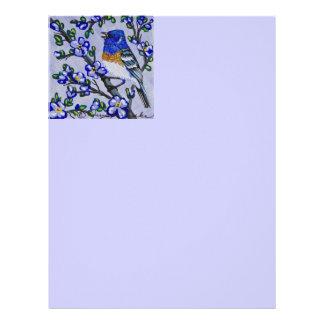Lazuli Bunting Letterhead