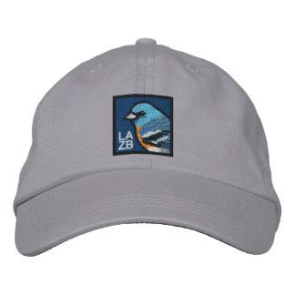 Lazuli Bunting (non-distressed) Embroidered Baseball Cap