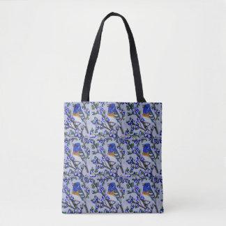 Lazuli Bunting Tote Bag