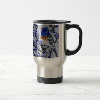 Lazuli Bunting Travel Mug