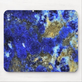 Lazurite pattern abstract art mouse pad