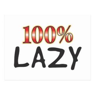 Lazy 100 Percent Postcards