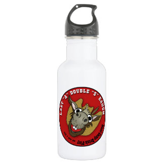 "LAZY ""A"" DOUBLE ""S"" RANCH STAINLESS STEEL WATER BOTTLE"