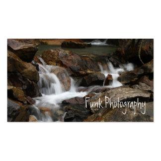 Lazy Alaskan Waterfall Business Card