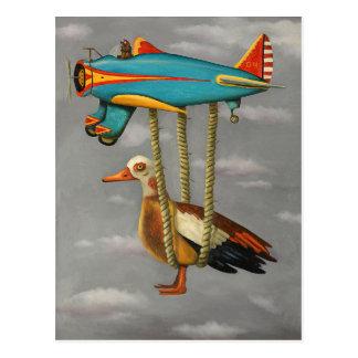 Lazy Bird 2 Postcard