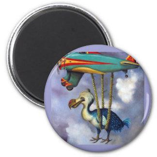 Lazy Bird Magnet