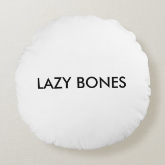 Lazy bones dog pillow