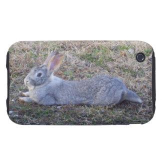Lazy Bunny iPhone 3 Tough Case