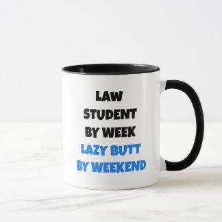 Lazy Butt Law Student Mug