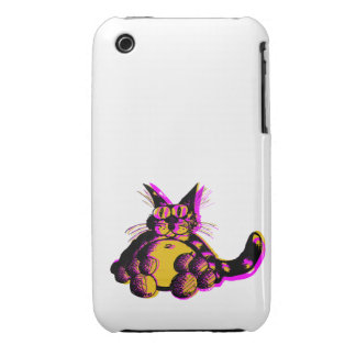 Lazy Cat iPhone 3 Case-Mate Protectores