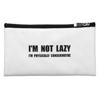 Lazy Conservative Cosmetic Bag