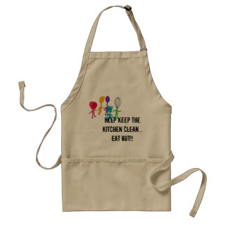 Lazy Cook Adult Apron