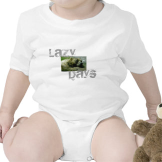 Lazy Day Bear T Shirts
