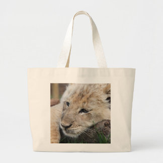 Lazy Day Nap Large Tote Bag