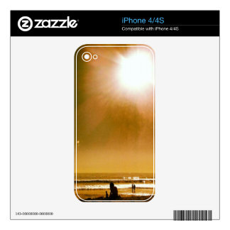 Lazy Day Skin iPhone 4 Decals