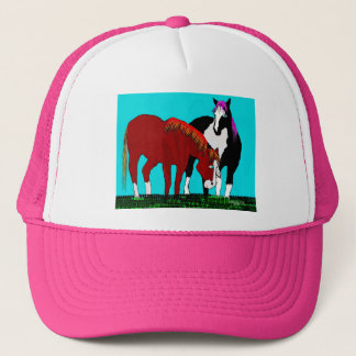 lazy days horse products trucker hat