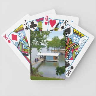 Lazy Days of Summer Path to Boat House Bicycle Playing Cards