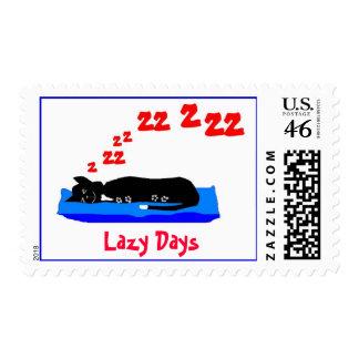 Lazy Days Stamp