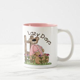 Lazy Days Two-Tone Coffee Mug