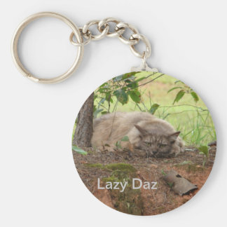 Lazy Daz Keychain