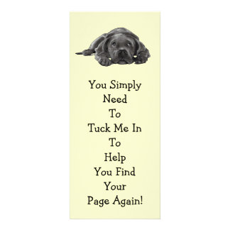 Lazy Dog BOOK MARK Tuck Me In Personalized Invites