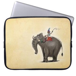 Lazy Elephant Laptop Computer Sleeve
