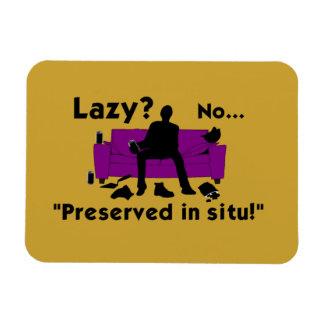Lazy? Fridge Magnet