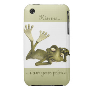lazy frog iPhone 3 cases