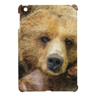 Lazy Grizzly Bear iPad Mini Cases