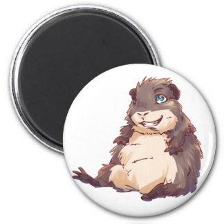 Lazy Guinea Pig Magnet