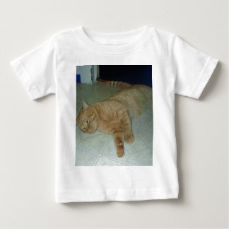 Lazy Kitty Baby T-Shirt