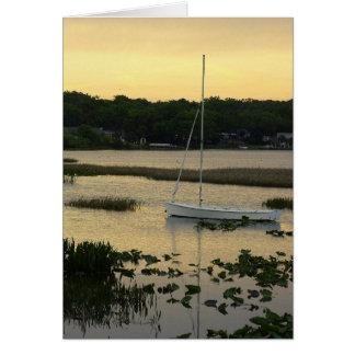 Lazy Lake Greeting Cards
